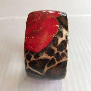 Macy's Animal print bracelet